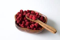 Dehydrated raspberry Royalty Free Stock Photos
