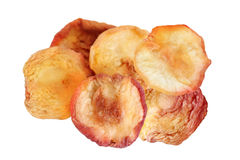 Dehydrated Red Peaches Stock Photo