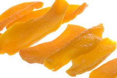 Dehydrated Sliced Mango Isolated Royalty Free Stock Image