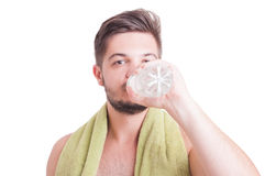 Dehydration during summer concept Stock Image