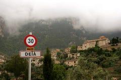 Deià in the Tramuntana mountains of Majorca Royalty Free Stock Photo
