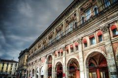Dei Banchi Palazzo στη Μπολόνια Στοκ εικόνες με δικαίωμα ελεύθερης χρήσης