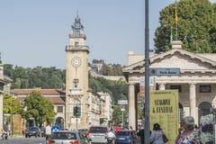 Dei Caduti, Bergamo, Italië van Torre Stock Foto