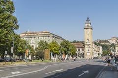 Dei Caduti, Bergamo, Italië van Torre Royalty-vrije Stock Foto's