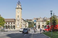 Dei Caduti, Bergamo, Italië van Torre Stock Fotografie
