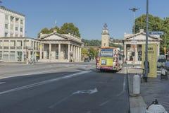 Dei Caduti, Bergamo, Italië van Torre Royalty-vrije Stock Fotografie