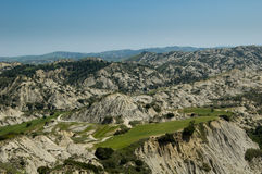 Dei Calanchi, Italie de Valle Image stock