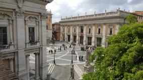 Dei Capitoli, Roma, Italia della piazza Fotografia Stock