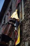 Dei Ceri de Corsa do La em Gubbio. Região Úmbria, Italy Fotos de Stock