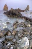 Dei Ciclopi, Sicilië, Italië van La Riviera stock foto's