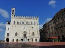 Dei Consoli, Gubbio de Palazzo Photographie stock