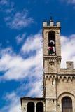 Dei Consoli, Gubbio di Palazzo Fotografia Stock