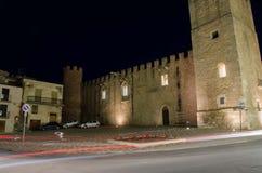 Dei Conti di Modica di Castello in Alcamo, Sicilia Immagini Stock