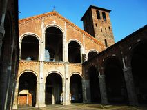 Dei de Sacrario Caduti - Milan, Italie Images stock