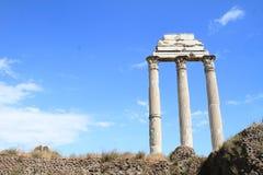 Dei Dioscuri för Il Tempio Royaltyfri Fotografi