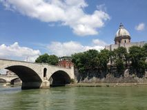 Dei Fiorentini de San Giovanni en Roma imagen de archivo libre de regalías