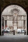 Dei Giuriconsulti Milão de Palazzo Foto de Stock Royalty Free