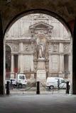 Dei Giuriconsulti Milano de Palazzo Foto de archivo libre de regalías