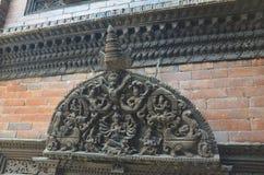 Dei indù scolpiti in legno Immagini Stock