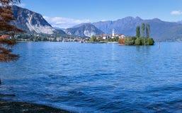 dei isola Italy jeziorny maggiore pescatori Zdjęcia Royalty Free