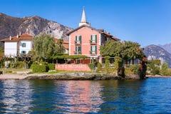 dei isola Italy jeziorny maggiore pescatori Obraz Royalty Free