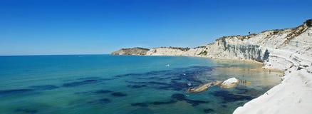 dei krajobrazowy scala Sicily turchi Obraz Stock