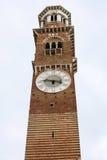 Dei Lamberti, alta torre di Torre a Verona Fotografia Stock