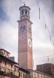Dei Lamberti - Verona de Torre Fotografia de Stock