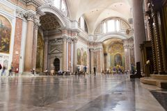 Dei Martiri Angeli ε degli της Σάντα Μαρία Στοκ Φωτογραφία