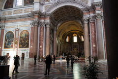 Dei Martiri di Angelus e di degli di Santa Maria dei Di della basilica Fotografia Stock