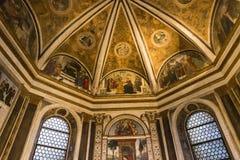 圣玛丽亚dei Miracoli教会,罗马,意大利 免版税库存照片