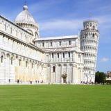 Dei Miracoli de la plaza en Pisa, Italia Foto de archivo