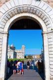 Dei Miracoli de la plaza en Pisa, Italia Imagen de archivo