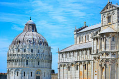 dei miracoli piazza Pisa Obrazy Royalty Free