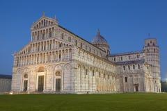 Dei Miracoli, Pisa della piazza Fotografie Stock Libere da Diritti