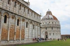 Dei Miracoli, Pisa della piazza Fotografia Stock Libera da Diritti