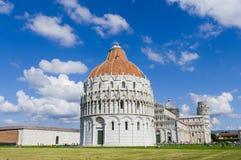 Dei Miracoli, Pisa Italia della piazza Fotografie Stock Libere da Diritti