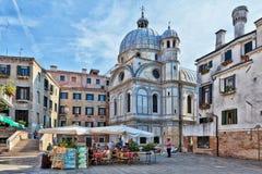 Dei Miracoli, Venecia Italia de Campo Imagen de archivo