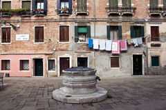Dei Mori Venezia Campo Стоковая Фотография RF