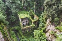 Dei Mulini de Valle, ou vale dos moinhos Costa de Sorrento, Amalfi ele Imagem de Stock