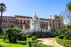 Dei Normanni de Palazzo à Palerme, Sicile Images stock
