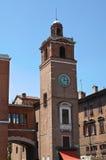 Dei Notai della loggia. Ferrara. L'Emilia Romagna. L'Italia. Fotografia Stock