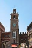Dei Notai della loggia. Ferrara. L'Emilia Romagna. L'Italia. Immagini Stock Libere da Diritti