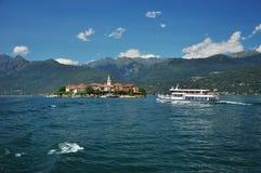 Dei Pescatori, λίμνη Maggiore, Ιταλία Isola Στοκ Εικόνες