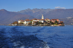 Dei Pescatori de Isola, lago (lago) Maggiore, Itália imagens de stock