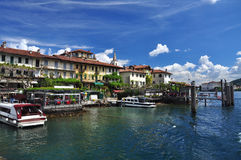 Dei Pescatori de Isola, lago Maggiore, Itália Fotos de Stock Royalty Free