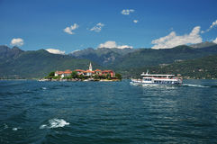 Dei Pescatori, lago Maggiore, Italia di Isola Fotografia Stock