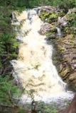 ` dei ponti di bianco del ` della cascata La Repubblica di Carelia Immagini Stock Libere da Diritti