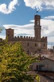 Dei Priori Palazzo, Volterra Стоковые Изображения