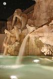 Dei Quattro Fiumi di Fontana Immagine Stock